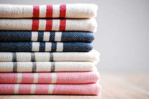 Celelann Handwoven Turkish towels | Remodelista