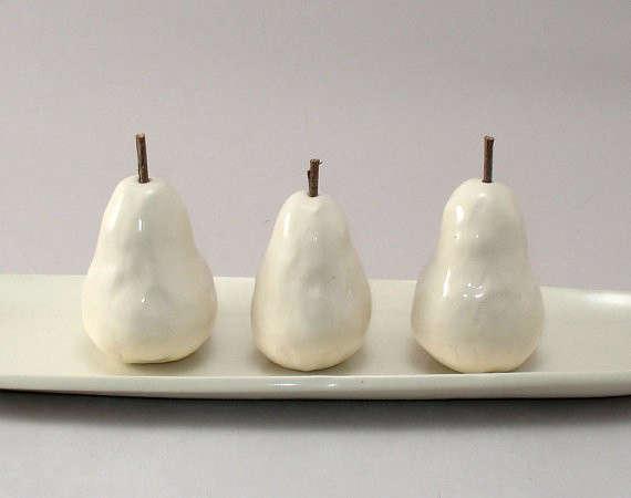 Ceramic-pears-on-tray-Cheryl-Wolff-Remodelista