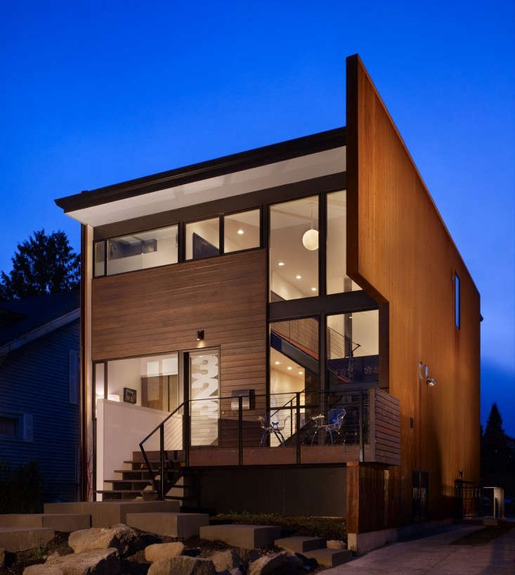 Chadbourne Doss Architects 5 Modern House Exterior Clad in Wood, Remodelista