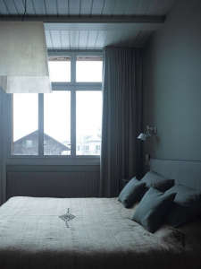 A Bedroom in the Berdorf Chalet House | Remodelista