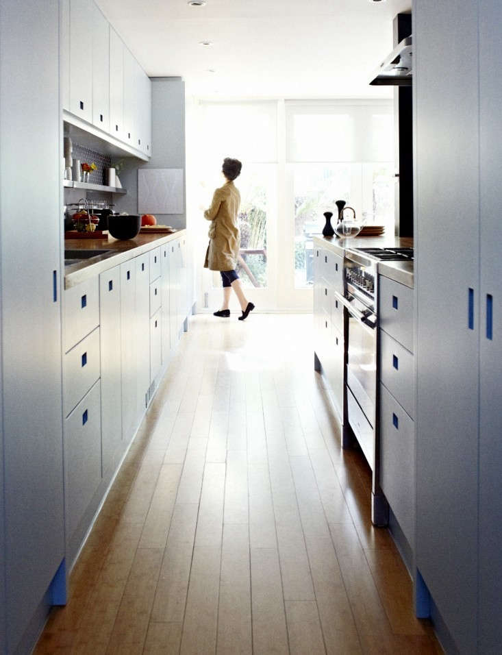 Christine-Chang-Hanway-London-kitchen-renovation-bamboo-floor-Remodelista
