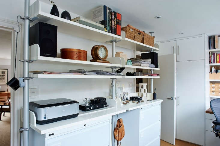 rehab diary storage in unexpected places home office edition remodelista. Black Bedroom Furniture Sets. Home Design Ideas