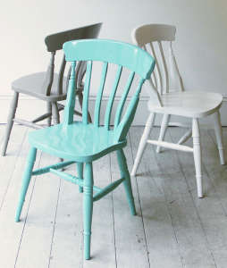 Christopher Howe Painted Windsor Chairs | Remodelista