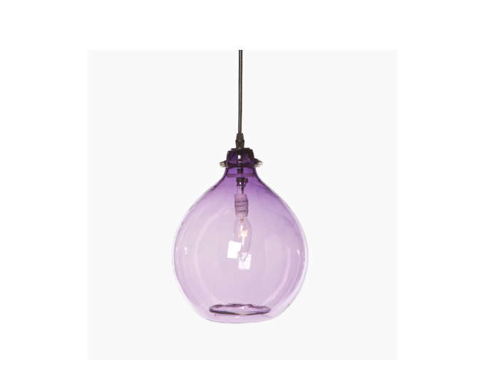 10 Easy Pieces Colorful Glass Pendant Lights Remodelista