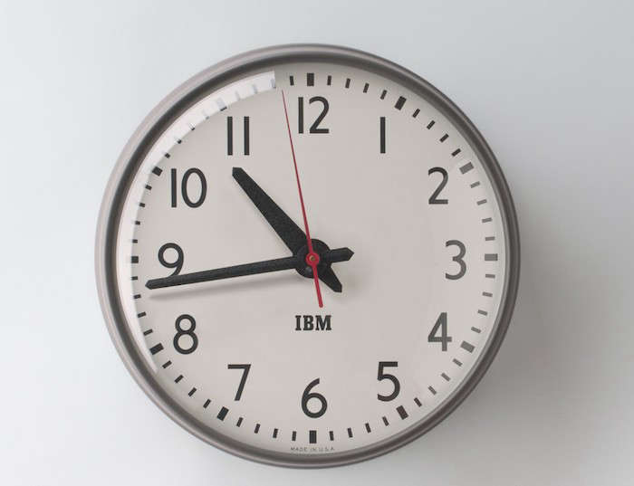 Classic-Wall-Clock-in-Grey-Schoolhouse