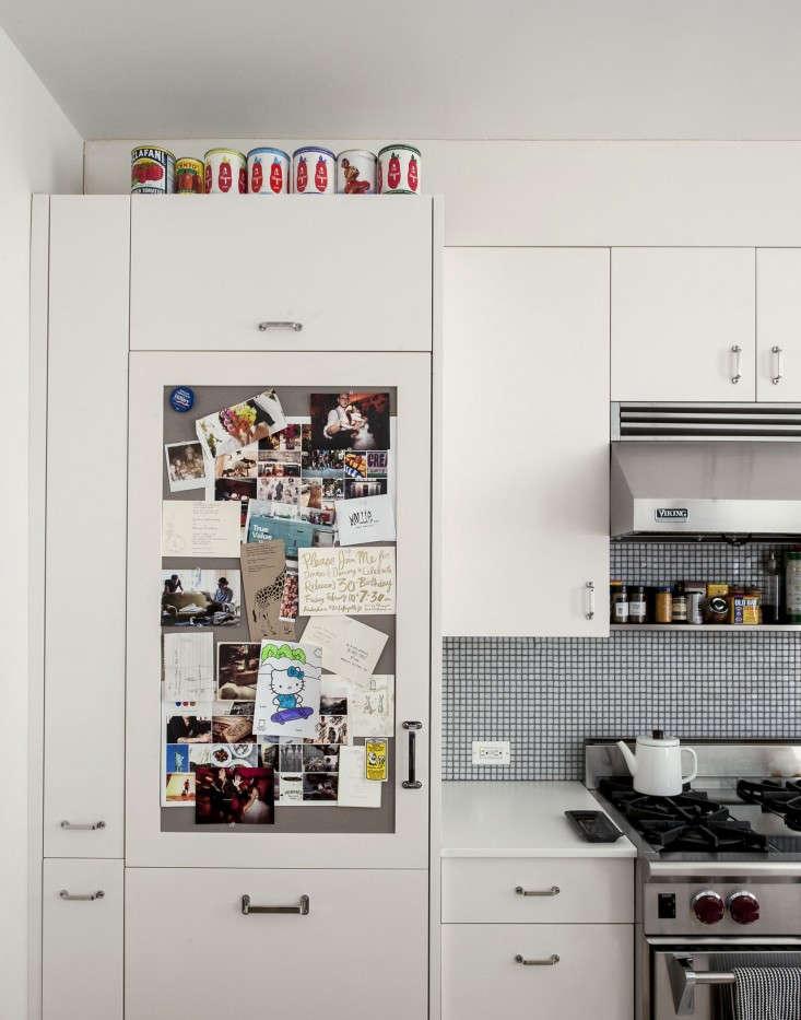 Cobble-Hill-duplex-by-Oliver-Freundlich-Sub-Zero-with-pinboard-door-Remodelista