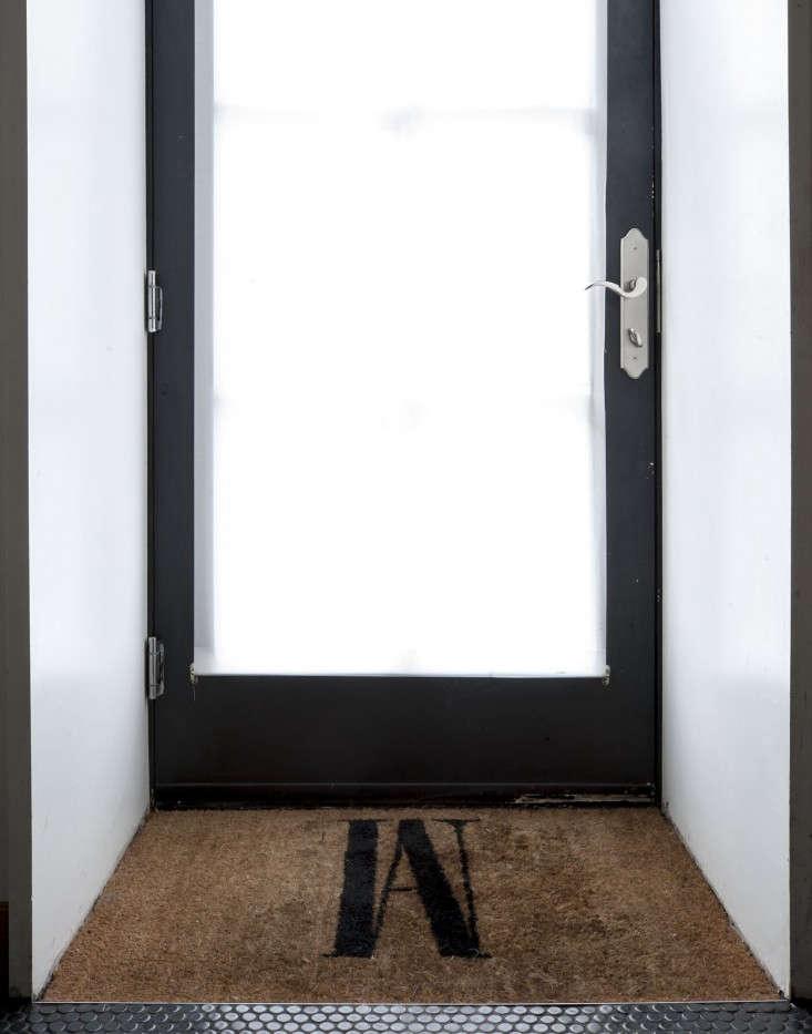 Cobble-Hill-duplex-by-Oliver-Freundlich-custom-doormat-Remodelista