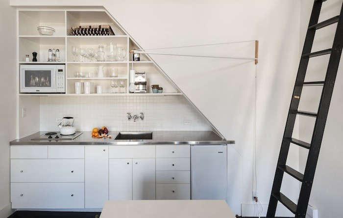 Compact-Kitchen-Stainless-Countertop-Matthew-Williams-Photo-Remodelista