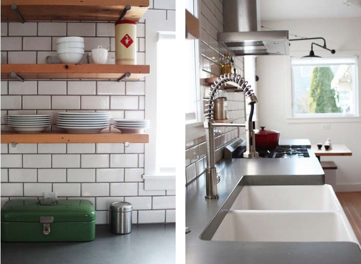 Polished Concrete Countertops In Kitchen By Bright Design Lab