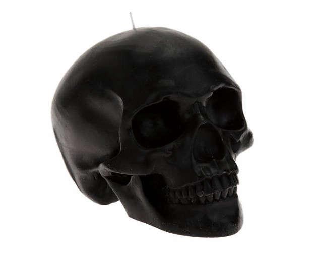 D.L.&CO-Black-Skull-Candle-Remodelista