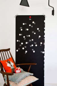 DIY LED Tealight Advent Calendar from Picholine | Remodelista
