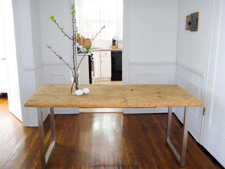 diy an old meets new dining table for under 125 remodelista
