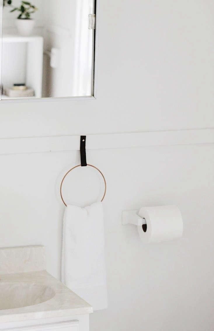 Diy A Simple And Elegant Towel Holder For Under 10
