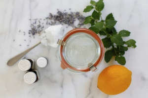 DIY hand sanitizer by Christine Chitnis | Gardenista