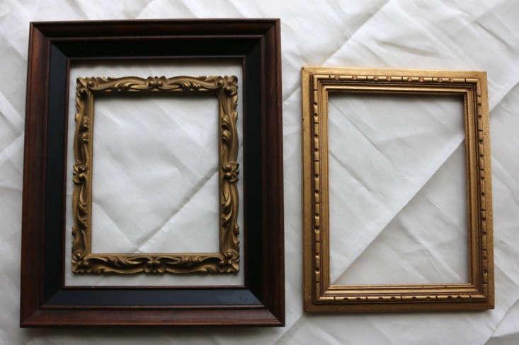 DIY Vintage Frames Remodelista