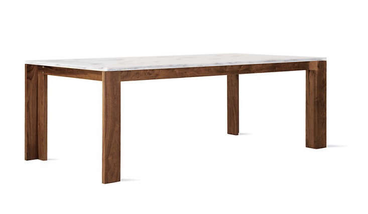 10 Easy Pieces Marble Top Dining Tables Remodelista