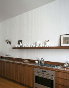Dagmar Daley Kitchen Plain Front Walnut Cabinets, Remodelista