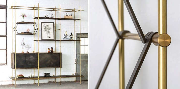 Details-of-brass-and-oak-shelving-system-from-amuneal-Remodelista