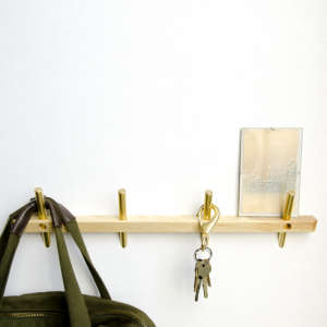 Dixon Branded Intersect  Hook Rail shelf | Remodelista