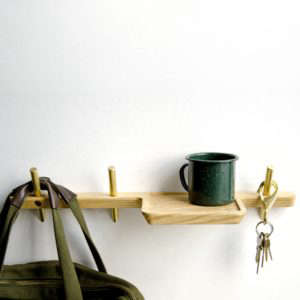 Dixon Branded Intersect Valet shelf | Remodelista