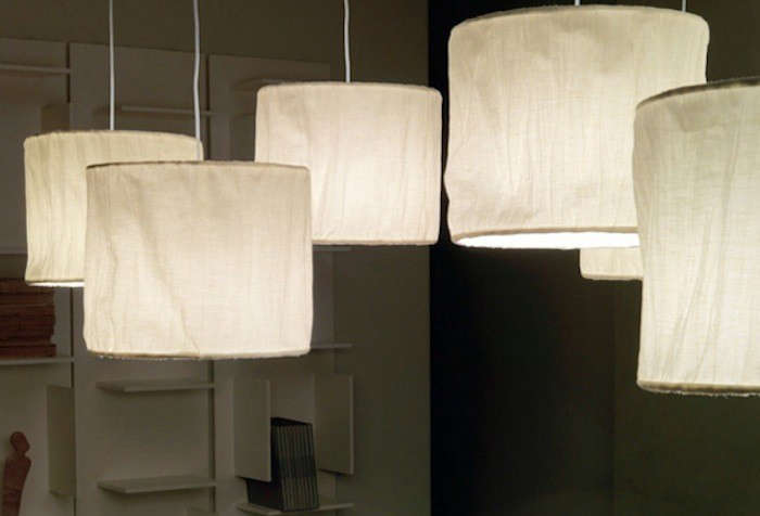 10 Easy Pieces Fabric Pendant Lamps Remodelista