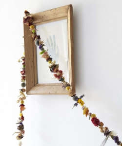 Dried Flower Garland Gardenista