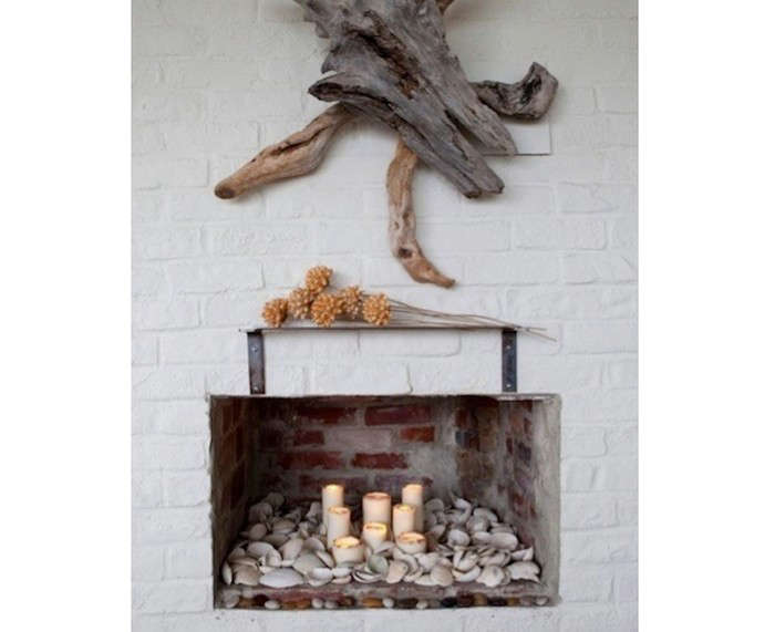 Driftwood-Above-Fireplace