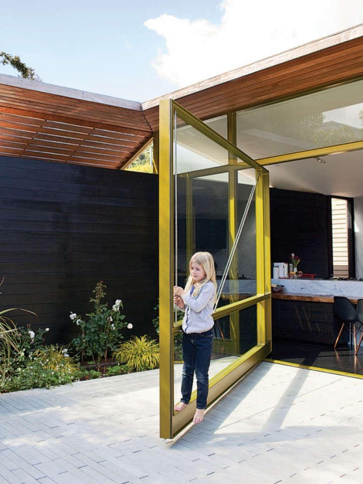Dwell-Founder-Lara-and-Christopher-Dream-House-Pivot-Door