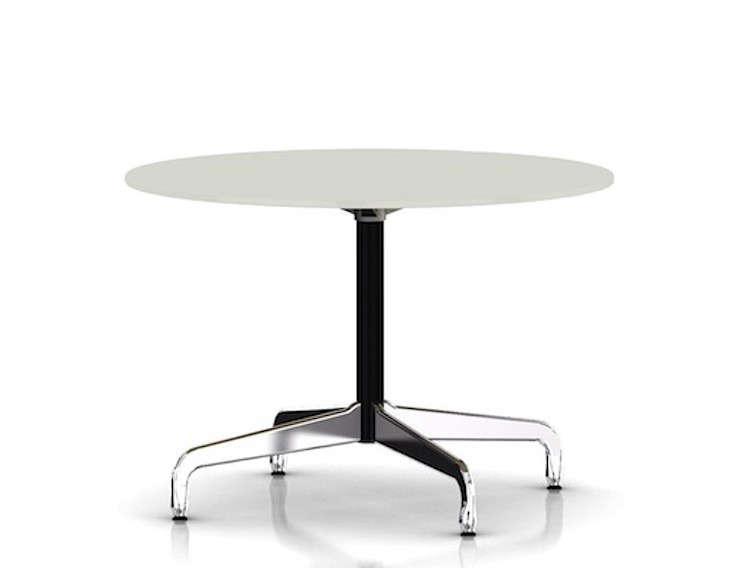 eames table segmented base round remodelista. Black Bedroom Furniture Sets. Home Design Ideas