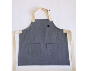 Early Grey Apron by Hedley Bennett I Remodelista