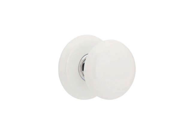 Emtek-Ice-White-Door-Knob-Set