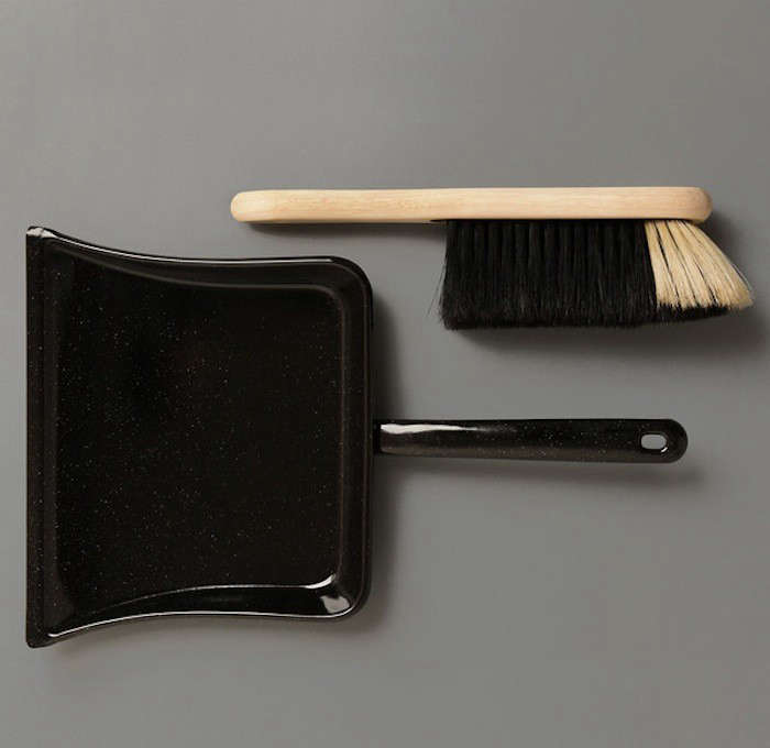 Enamel-Dustpan-and-Broom-Labour-and-Wait-Remodelista