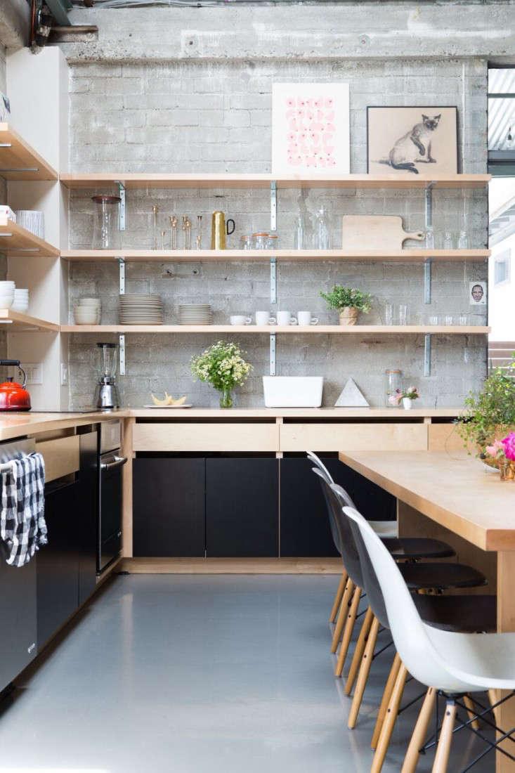 Kitchen Of The Week Epoch Films Friendly Industrial Loft Kitchen . New York  Loft Kitchen Design ...