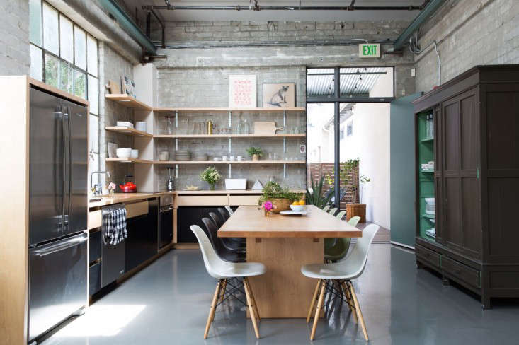 Kitchen Of The Week Epoch Films Friendly Industrial Loft