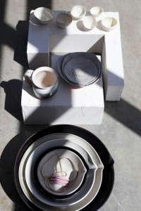 Eric Bonnin Ceramics Photographed by Nicole Franzen | Remodelista
