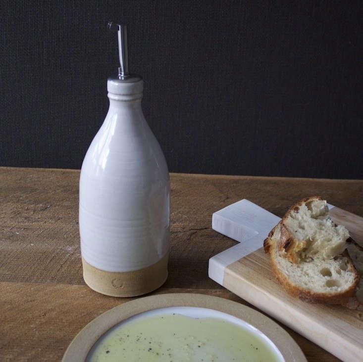Farmhouse-Pottery-Olive-Oil-Bottle-Remodelista