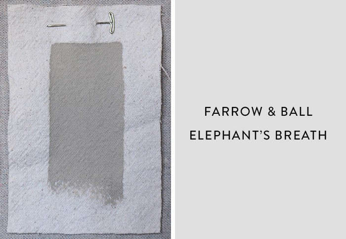 Farrow and Ball_Elephants Breath, Best Paint Color for Urban Small Dark Kitchens, Remodelista