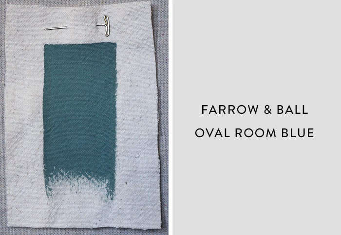 Farrow and Ball_Oval Room Blue, Best Paint Color for Urban Small Dark Kitchens, Remodelista