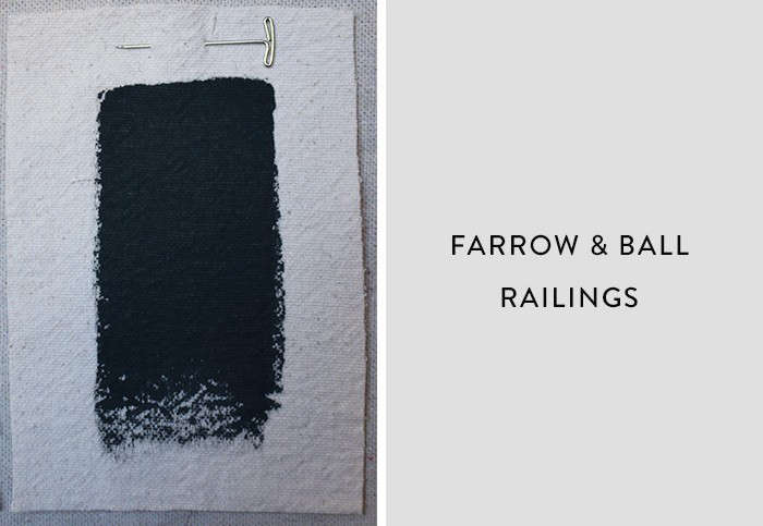 Farrow and Ball_Railings, Best Paint Color for Urban Small Dark Kitchens, Remodelista