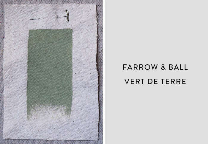 Farrow and Ball_Vert de Terre, Best Paint Color for Urban Small Dark Kitchens, Remodelista