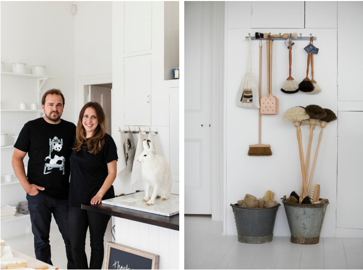 Father Rabbit Limited store, claudia and nick, Remodelista