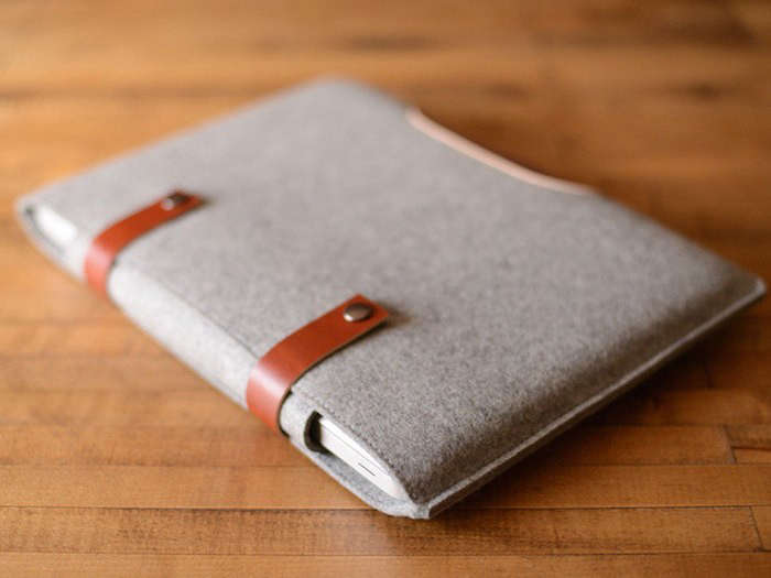 Felt-leather-laptop-sleeve-Remodelista