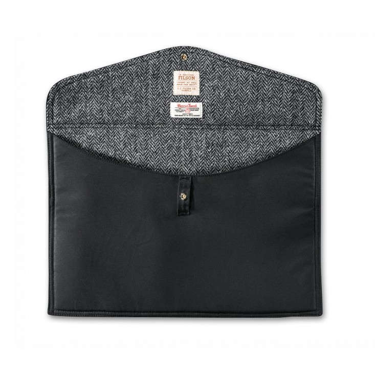 Filson Harris Tweed Laptop Case, Remodelista Gifts for the Techie