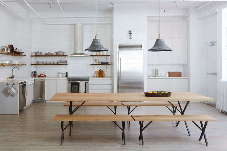 Kitchen of the week the ultimate staff kitchen in nyc for Living room 101 atlantic ave boston