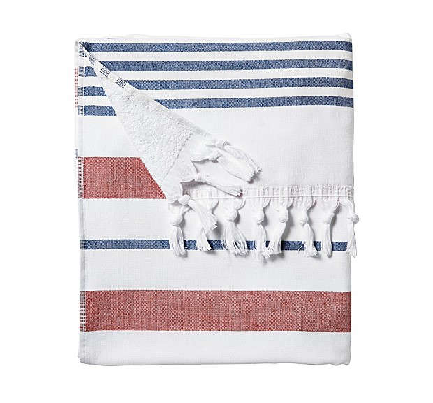 Fouta beach towel, Serena and Lily, Remodelista
