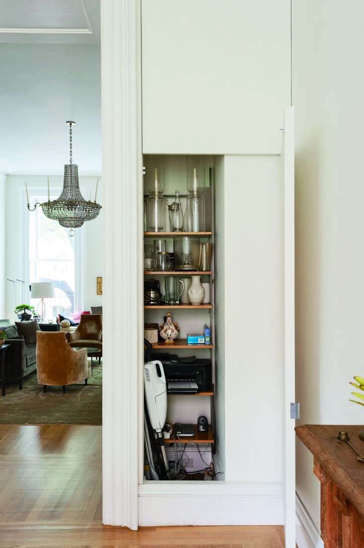 Francesca-Connolly-dining-room-stealth-storage-Remodelista