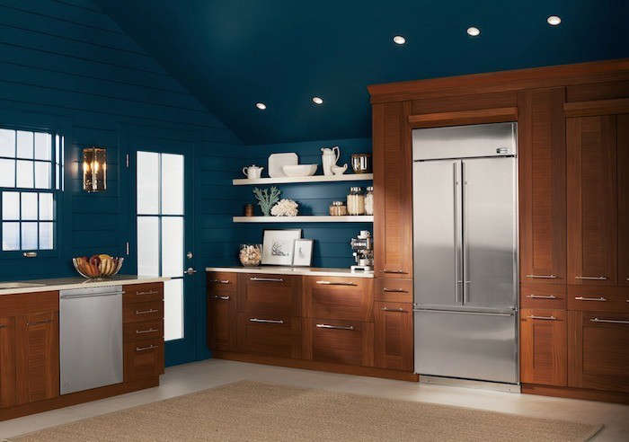 GE-Monogram-Kitchen-with-Warm-Wood