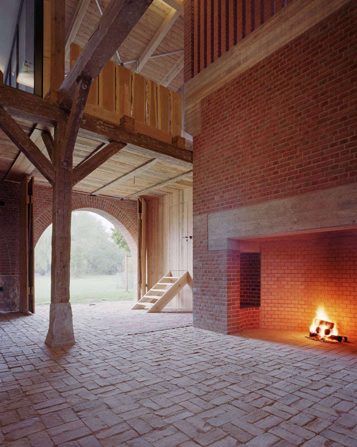 before and after a renovated barn by berlin star thomas kr ger remodelista