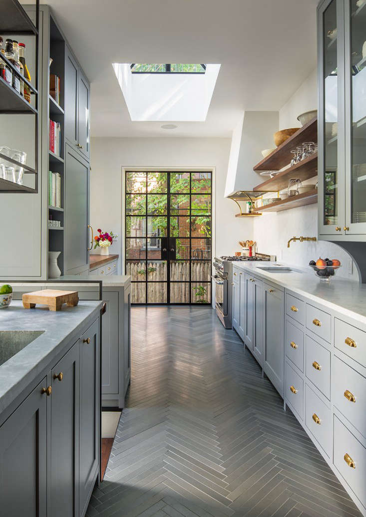 The architect is in a brooklyn brownstone transformed with respect remodelista - Brooklyn kitchen design ...