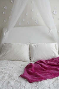 Girls Bedroom Pink Throw/Remodelista